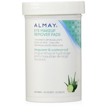 Almay Longwear et imperméables Tampons démaquillants pour les yeux, 120 count