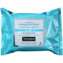 Neutrogena Hydrating Makeup Remover Cleansing Towelettes, 25 Count (Pack of 3)