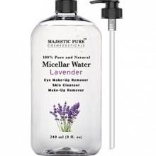 Majestic Démaquillant pur pour 8 Fluid Ounce yeux et du visage, nettoyant pour la peau, Lavande Eau Micellaire,