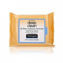 Neutrogena Deep Clean démaquillants, démaquillant Cleansing Wipes, 25-Count (Pack de 6)