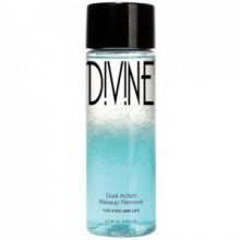 Divine Skin & Cosmetics Dual Action Eye And Lip Makeup Remover 4.5Oz