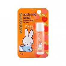 Watsons Apple and Peach Moisturising Lip Balm 4.5g. 253641 Created by 287