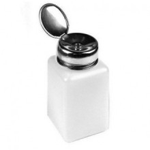 Wawo Nail Polish Remover 200ml alcool liquide Presse Distributeur de pompage Bouteille vide (5pcs)