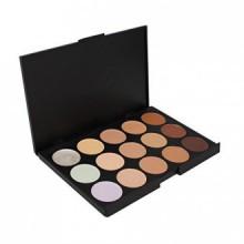 Anself 15 couleurs de maquillage professionnel Réchauffez Palette Fard à Paupières