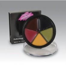 Mehron contusión maquillaje de ruedas (1 onza)