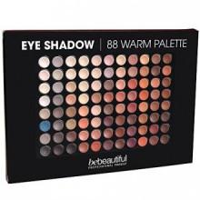 Bebeautiful sombra de ojos paleta de 88 sombras, caliente