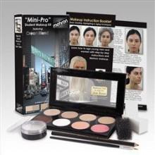 Mehron Mini-Pro Kit de maquillage étudiant FAIR / OLIVE FAIR - Théâtre et Stade