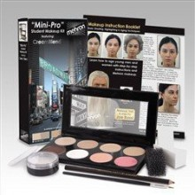 Mehron Mini Pro-Kit de maquillaje Estudiante FAIR / OLIVE JUSTO - Teatro y etapa