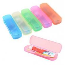 Elife Pack de 5 grande taille Toothbrush Case Holder pâte dentifrice pour l'utilisation Voyage
