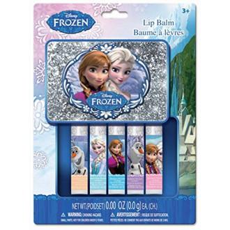 Frozen Mini Lip Balm with Box, 5 Count