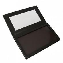 Tinksky Palette de maquillage magnétique pour fard à paupières, fard à joues, poudre, Fondation (Noir)