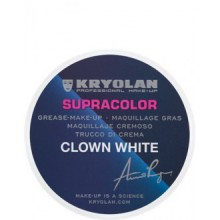 Kryolan 1081 Supracolor 30g (CLOWN WHITE)