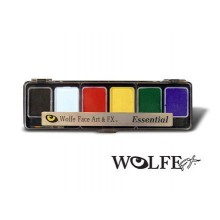 Wolfe 6 Palette de couleurs Kit / Face Paint (Skinz)