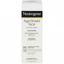 Neutrogena Edad escudo facial sin aceite protector solar de amplio espectro SPF 110, 3 Fl. Onz