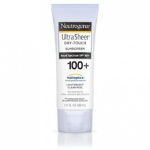 Neutrogena Ultra Sheer Dry-Touch Sunscreen Broad Spectrum SPF 100, 3 Fl. Oz