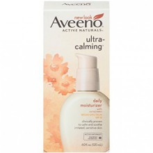 Aveeno Ultra-Calming Daily Moisturizer with Broad Spectrum SPF 15, 4 Fl. Oz.