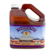 Lily of the Desert Preservative Free Organic Inner Fillet Aloe Vera Juice 128oz