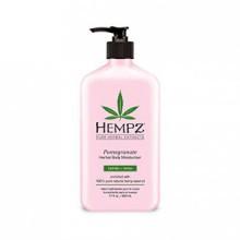 Hempz Herbal Body Moisturizer, Light Pink, Pomegranate, 17 Fluid Ounce