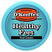 pour la crème Pieds Pied sain, 3,2 oz, Jar O'Keeffe