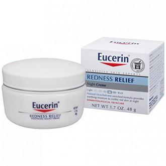 Eucerin Peau Sensible Redness Relief Apaisante Crème de nuit 1.7 Ounce