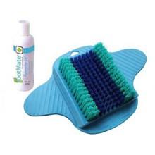 Le Massage des pieds système FootMate & épurateur w / rajeunissant Gel, Bleu