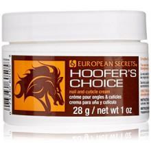 super-ongles Choix Hoof à ongles et cuticules de crème de Hoofer 1 oz (28g)
