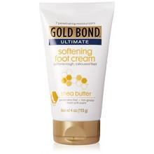 Crème pour les pieds Gold Bond ultime adoucissement avec du beurre de karité, 4 Ounce