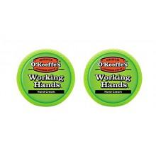 O'Keeffe's Working Hands Hand Cream, 3.4 oz., Jar, (Pack of 2)