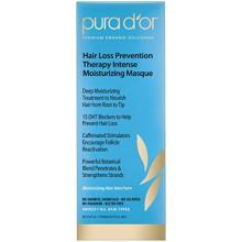Terapia Prevención PURA D'o caída del cabello Mascarilla Hidratante Intenso, 12 onza líquida