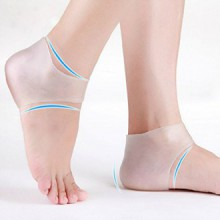 Plantar Fasciitis Gel Heel Cushion Protector - Foot Sleeve to Instantly Relieve Pain and Pressure - Efficient Remedy for