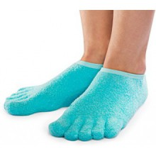 NatraCure 5-Toe Moisturizing Gel Socks (110-M CAT)
