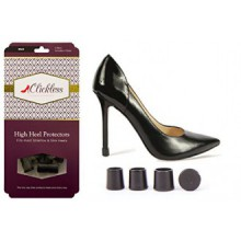 Black Clickless® Heel Protectors