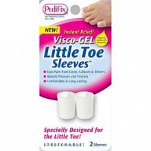 Visco Gel de Little Toe Sleeve (Pack de 2)