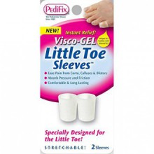 Visco Gel Little Toe Sleeve (Pack of 2)