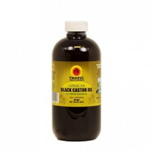 Tropic Isle Jamaican Noir Castor Oil 8 oz avec un applicateur, Big Sale !! - Safe Pet Bottle Packaing