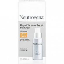 Neutrogena Rapid Wrinkle Repair Moisturizer with Broad Spectrum SPF 30 Sunscreen, 1 Fl. Oz