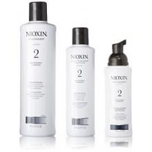 2 Starter Kit Limpiador Nioxin System, Terapia cuero cabelludo y el cuero cabelludo Tratamiento 1 juego (Limpiador 300 ml (10,1
