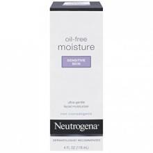 Neutrogena Oil-Free Moisture Sensitive Skin, 4 Fl. Oz