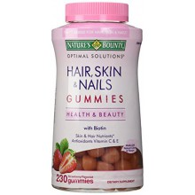 Skin and Nails Bounty Hair Nature, 230 Gummies