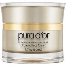 PURA D'Anti Aging-Day ou Premium Argan Bio Oil & Night Crème Visage, 1.7 Ounce