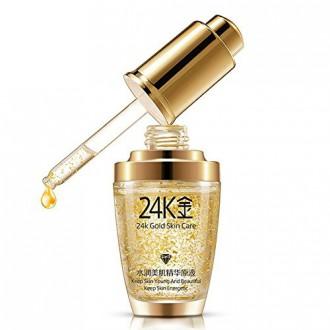 EFINNY Anti Aging Rides Hydratant Peau Crème Visage 24K GOLD collagène liquide