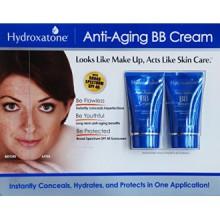 BB Hydroxatone Anti-Aging (Beauty Balm) Crème, Shade universelle pour tous les types de peau, SPF 40 (BONUS Paquet de 2, 1,5 oz