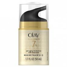 Total Effects de Olay 7 en un, Anti-Aging Hydratant Avec SPF 30, 1,7 Fluid Ounce