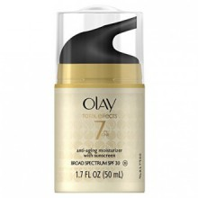 Olay Total Effects 7 in one, Anti-Aging Moisturizer With SPF 30, 1.7 Fluid Ounce