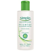 Simple Eau Démaquillante, Micellaire - 6,7 oz