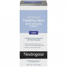 Neutrogena Healthy Skin Anti-Wrinkle Cream Night, 1.4 Oz
