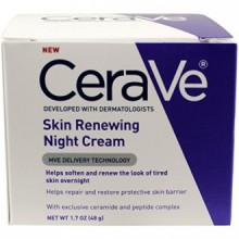 CeraVe Système Renouveler, Peau Renouveler Crème de nuit, 1.7 Ounce