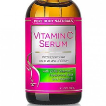 Vitamin C Serum, Professional Topical Facial Skin Care Helps Repair Sun Damage, Fade Age Spots, Dark Circles, L-ascorbic