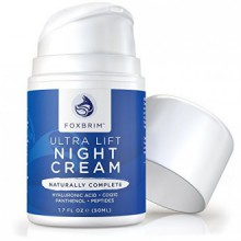 Ultra Lift Night Cream - 100% Advanced Anti-Aging Formula - Restore Youthful Skin With Premium Natural & Organic Ingredients