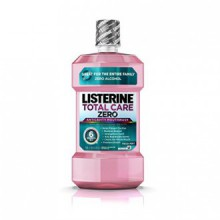 Listerine Total Care Zero Anticavity Mouthwash, Fresh Mint, 1 L (Pack of 2)
